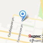 Общеобразовательная школа №30 на карте Белгорода