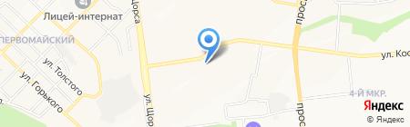 Поколение на карте Белгорода