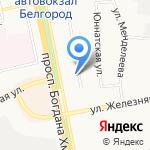 ЖилБелриэлт на карте Белгорода