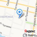 БЕЛПЛЕКС на карте Белгорода
