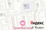 Схема проезда до компании Золотая Рыбка в Белгороде