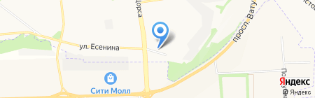 Тиролит на карте Белгорода