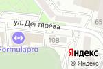 Схема проезда до компании СантехХаус в Белгороде