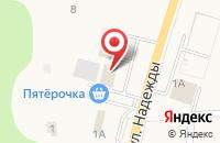 Схема проезда до компании Аптечный пункт в Таврово