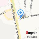 Благотворительная поликлиника им. Преподобного Феодосия Печерского на карте Белгорода