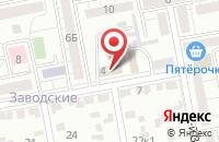 Схема проезда до компании ДорТех в Белгороде