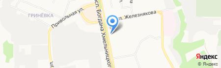 Пиво-во на карте Белгорода