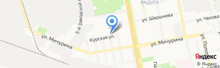 Тетис-Н на карте Белгорода