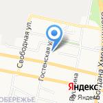 Интеравиа-центр на карте Белгорода