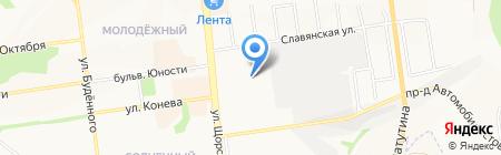 Янтарь на карте Белгорода