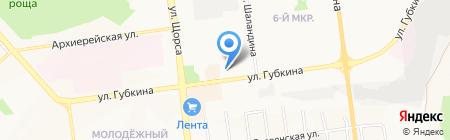 Банкомат Центрально-Черноземный Банк Сбербанка России на карте Белгорода