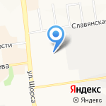 Служба проката лимузинов на карте Белгорода