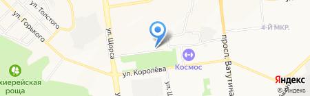 Альтаир-М на карте Белгорода