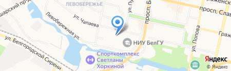 Электромир на карте Белгорода