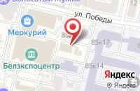 Схема проезда до компании Электромир в Белгороде