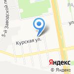 Дона на карте Белгорода