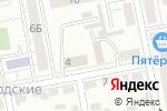 Схема проезда до компании Тетис-Н в Белгороде