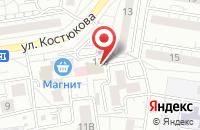 Схема проезда до компании Галерея дизайнерских светильников и ретро ламп в Белгороде