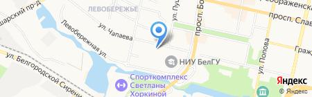 ЭкспрессУниверсалСервис на карте Белгорода