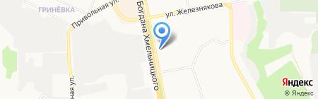 Дом мебели на карте Белгорода