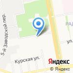 Почтовое отделение №2 на карте Белгорода