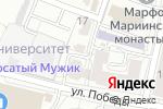 Схема проезда до компании Юридический центр в Белгороде