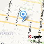 Военный комиссариат Белгородской области на карте Белгорода