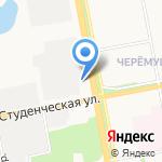 Эклиптика на карте Белгорода