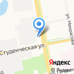 Эпицентр на карте Белгорода