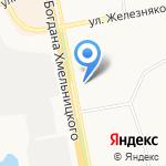 Промтовары №6 на карте Белгорода