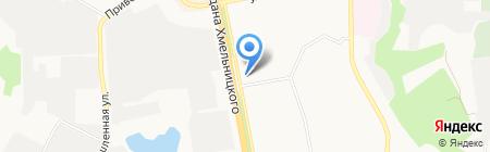 Магазин польской женской одежды на карте Белгорода