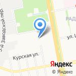 Гидроузел на карте Белгорода