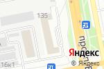 Схема проезда до компании ПрофТекстиль ТД в Белгороде
