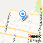 Полимед на карте Белгорода