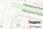 Схема проезда до компании Центр генетических исследований в Белгороде