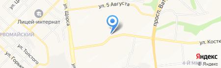 Срочное фото на карте Белгорода