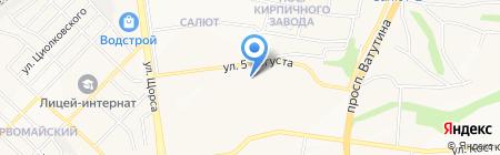 Продовольственный магазин на карте Белгорода