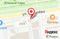 Схема проезда до компании Балатонстрой в Белгороде