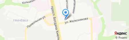 Общежитие №18 на карте Белгорода