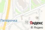 Схема проезда до компании Легион в Дубовом