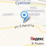 Магазин мяса на карте Белгорода