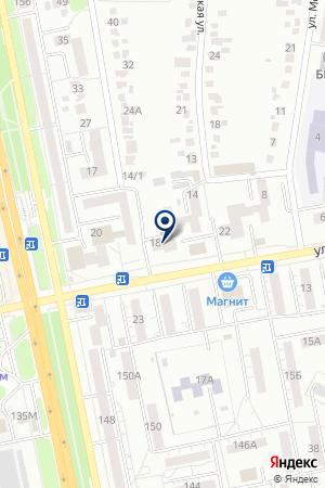 ДОПОЛНИТЕЛЬНЫЙ ОФИС № 8592/012 БЕЛГОРОДСКОЕ ОТДЕЛЕНИЕ СБЕРБАНКА № 8592 на карте Белгорода