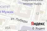 Схема проезда до компании Канцфармат в Белгороде