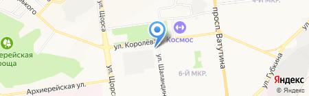 Аватар на карте Белгорода