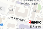 Схема проезда до компании Семь дней в Белгороде