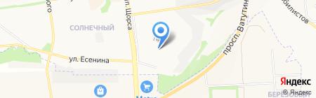 Авантаж на карте Белгорода