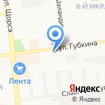 Восточный экспресс банк на карте Белгорода