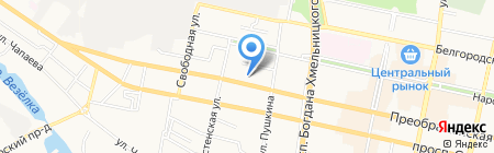 БЕЛЫЙ ПОЛИС на карте Белгорода