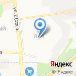 Инженер на карте Белгорода
