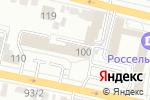 Схема проезда до компании Белгородские известия в Белгороде